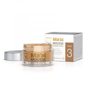 Maquillaje Corrector Ma'at Mousse SPF 50 Tono 3 x 25 Gr Hidrisage